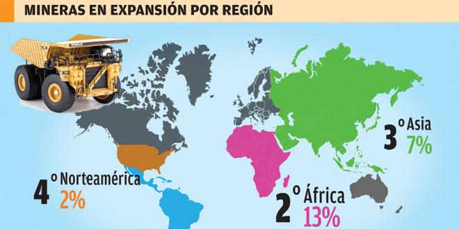 Latinoamérica es la región minera más optimista de cara a 2016