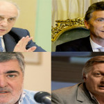 Carlos Bulgheroni, Mauricio Macri, Mario Das Neves y Juan Jose Aranguren.