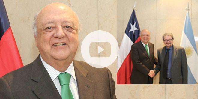 Exclusiva con el embajador de Chile en Argentina, José Antonio Viera Gallo