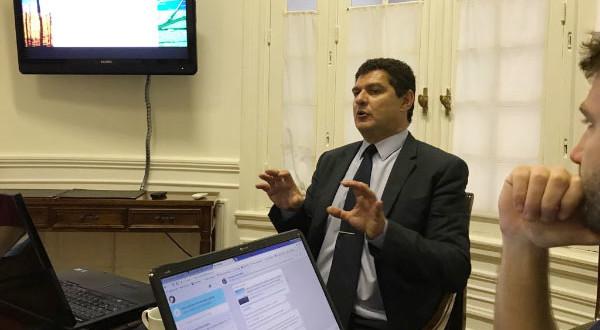 El Inversor Energético & Minero en la reunión que organizó CADER  para periodistas de distintos medios en su sede