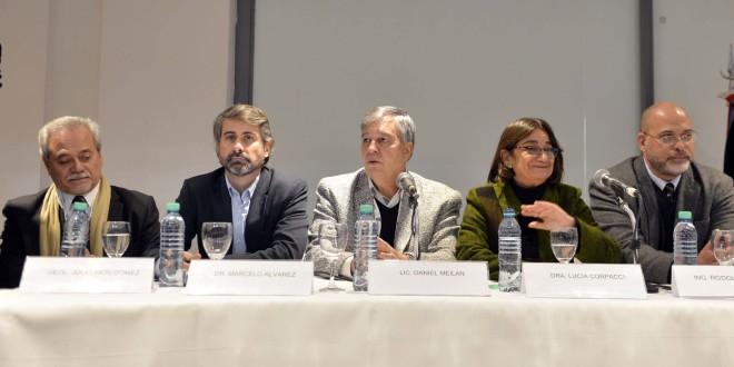 Daniel Meilán, Rodolfo Micone, Marcelo Álvarez, Julio Ríos Gómez estuvieron presentes en el VI Seminario Internacional de Litio en la Región de Sudamérica