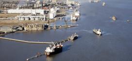 Avanzan las obras para mejorar la logística en la zona portuaria de Bahía Blanca