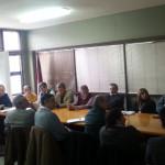 Diferentes organismos de juntaron para debatir temas en la Secretaria de Minería.