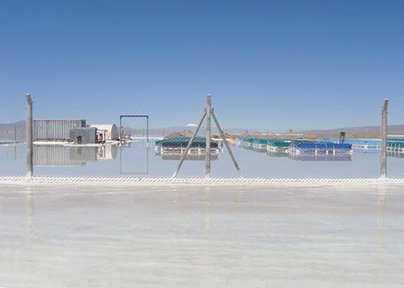Comienzan a construir la planta de litio de Caucharí-Olaroz