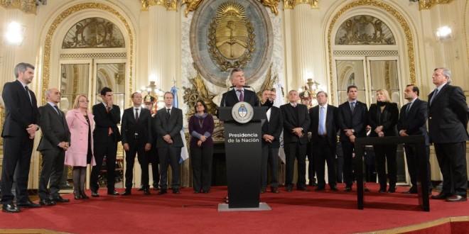 El presidente Macri presentó el Acuerdo Federal Minero