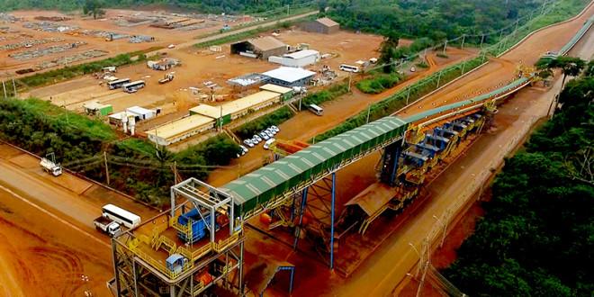 Brasil: Vale prevé alcanzar punto inferior de rango objetivo de producción hierro en 2017