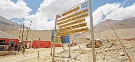 En un desafío de ingeniería sin precedentes en San Juan, avanza el cierre del túnel que unía Pascua-Lama