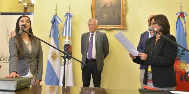 En Catamarca: Asumió la nueva Subsecretaria de Minería