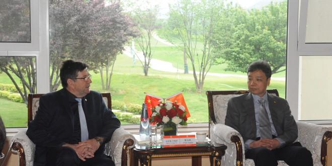 Presidente de Shandong Gold visitará la Argentina luego de recibir en China al Subsecretario de Desarrollo Minero